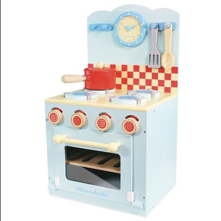 Le Toy van Toy Van- La cuisinière et four bleu