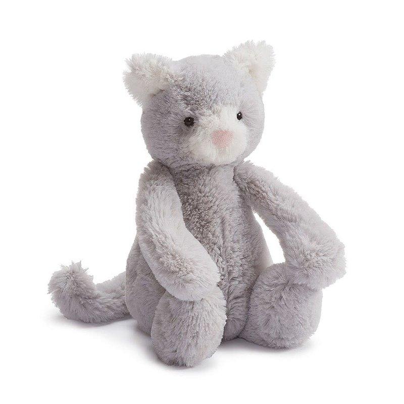 Jellycat Jellycat - Bashful chaton gris petit