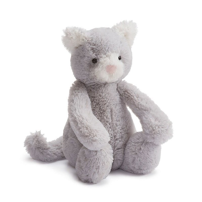 Jellycat Jellycat - Bashful Chaton gris