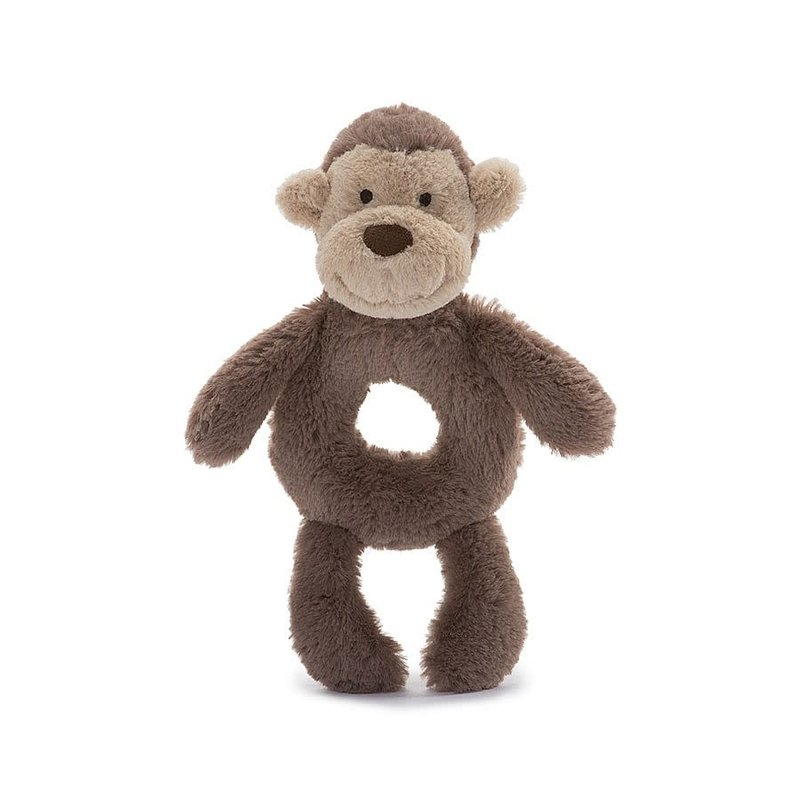 Jellycat Jellycat - Bashful monkey ring rattle