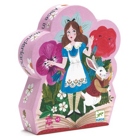 Djeco puzzle silhouette - Alice