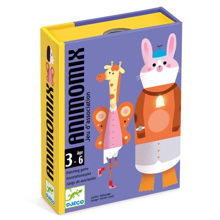 Djeco - Jeu de carte Animomix
