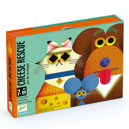 Djeco card games - Cheese rescue