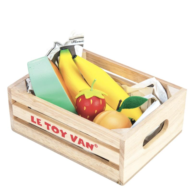 Le Toy van Toy Van- selection de fruits