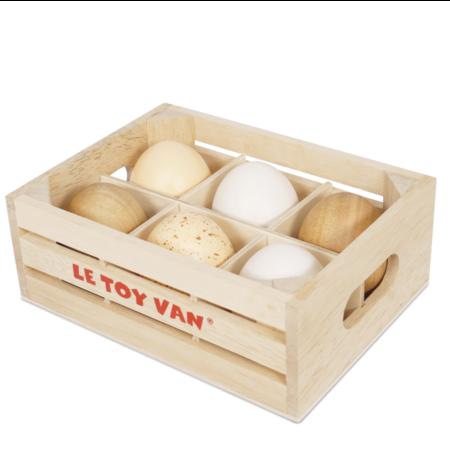 Le Toy van Toy Van - Cagette à œufs - demi douzaine