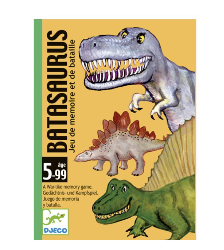 Djeco - game card- batasaurus