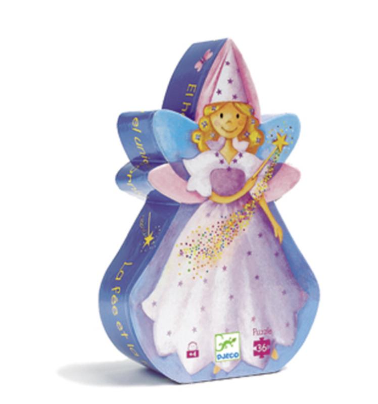 Djeco Silhouette Puzzle / Fairy / 36 pcs