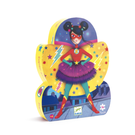 Djeco - Puzzle superstar 36pcs