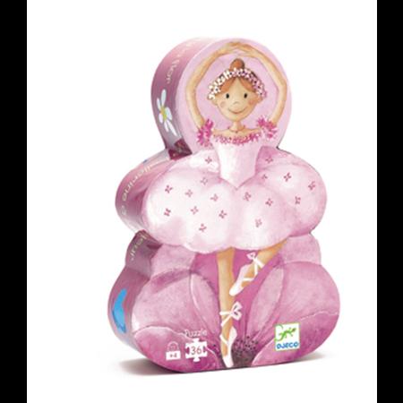 Djeco Silhouette Puzzle / Ballerina / 36 pcs