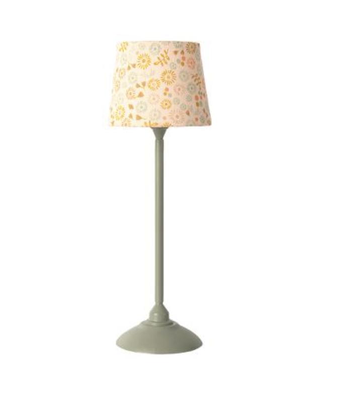 Maileg - Miniature floor lamp - Mint