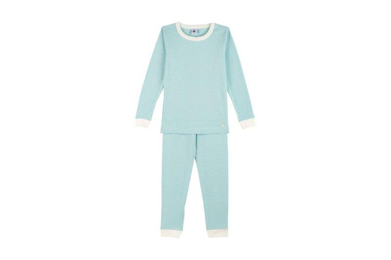 Petit bateau Petit Bateau - Snugfit Stripy Cotton Pyjamas