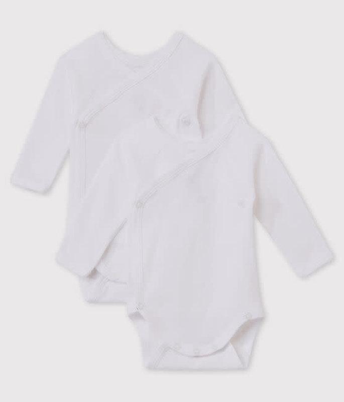 Petit bateau Petit Bateau - Long-sleeved Bodysuits - 2-Pack