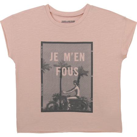 """Zadig & Voltaire Zadig & Voltaire - Tshirt """"JE M'EN FOUS"""""""