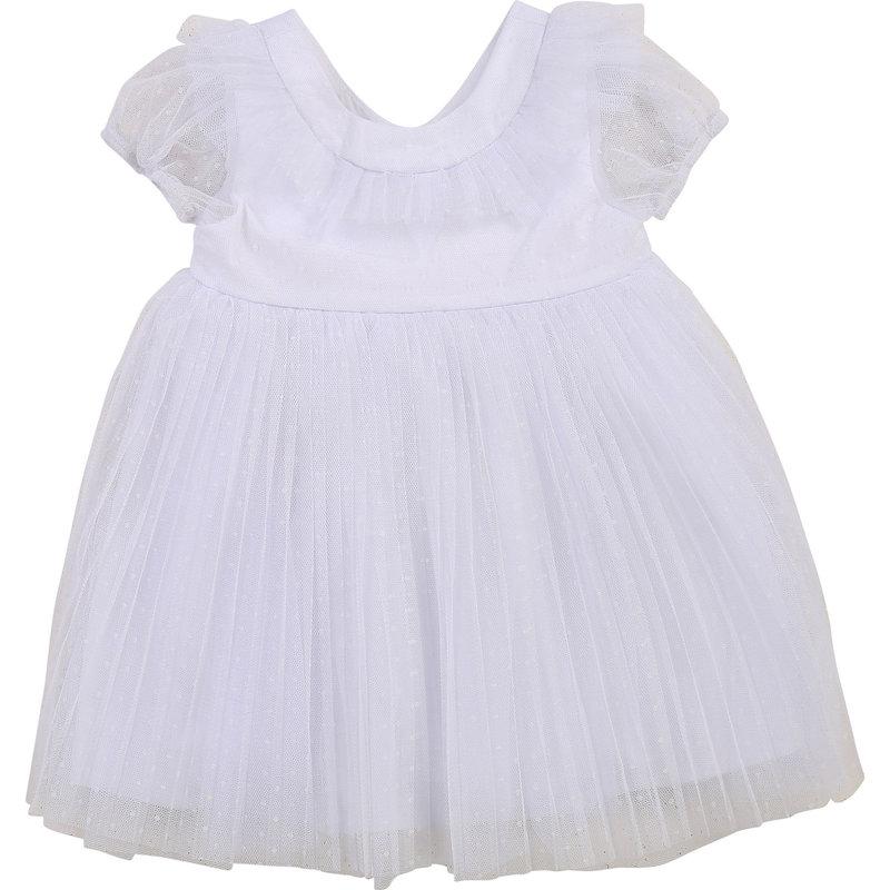 Carrement Beau Carrement Beau - SS Dotted mesh & satin Dress