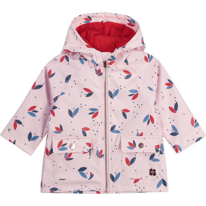 Carrement Beau Carrement Beau - Raincoat floral pattern