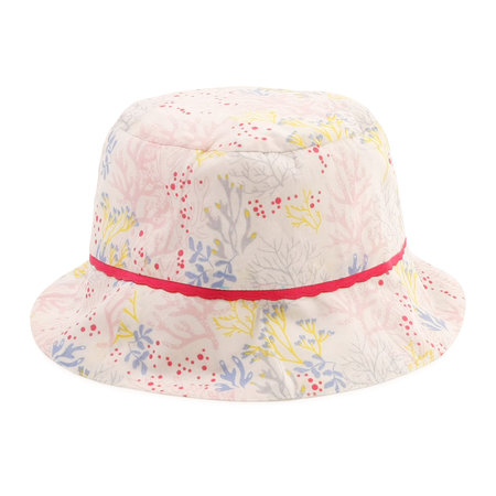 Carrement Beau Carrement Beau - Coral print bucket hat