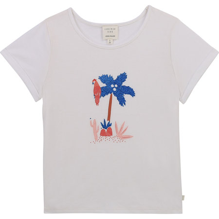 Carrement Beau Carrement Beau - SS Tee palm tree toucan