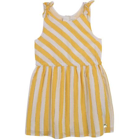 Carrement Beau Carrement Beau - Stripped Cotton Dress