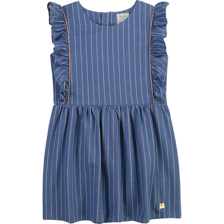 Carrement Beau Carrement Beau - Stripped Flouncy Dress