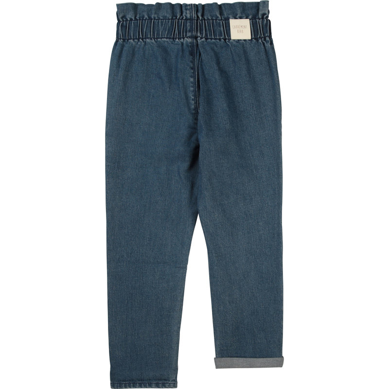 Carrement Beau Carrement Beau - Denim paperbag waist pants