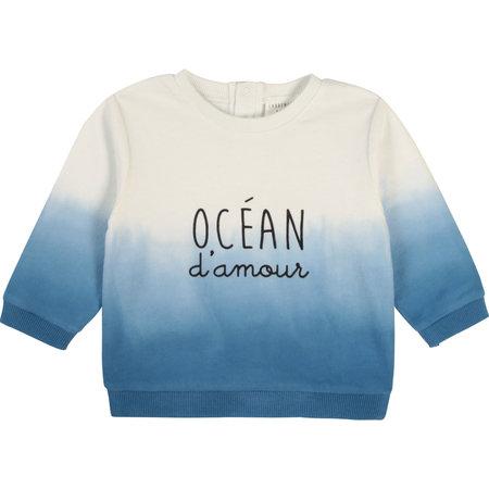 Carrement Beau Carrement Beau - Chandail Dip Dye Ocean d'amour