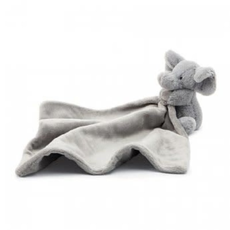 Jellycat Jellycat - Bashful grey elephant soother