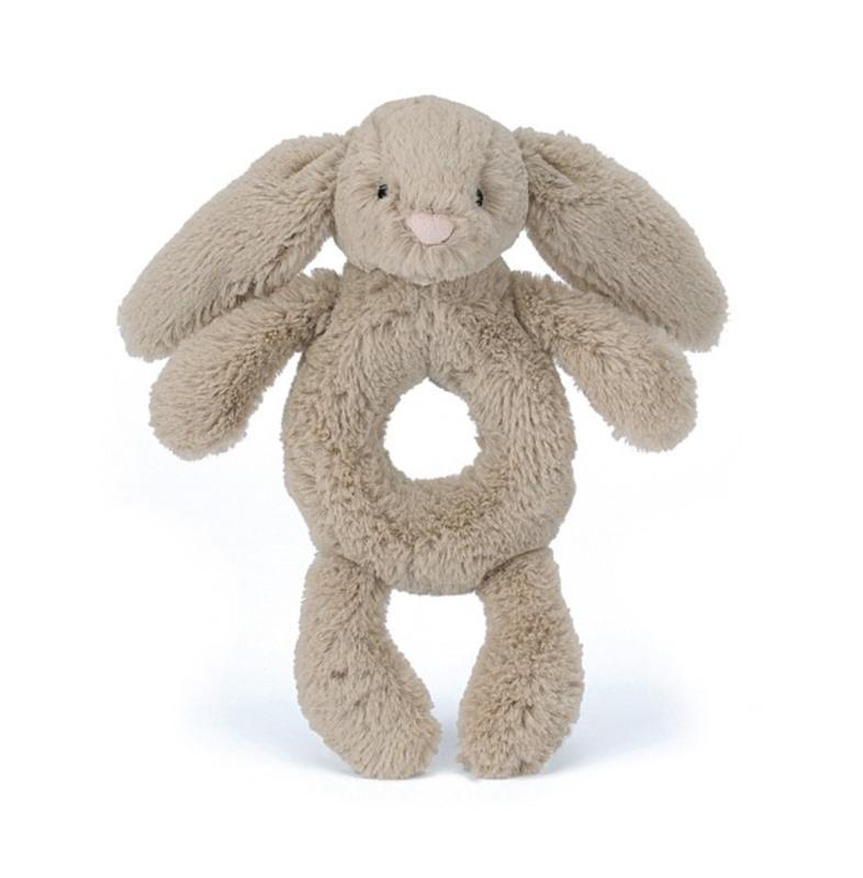 Jellycat Jellycat - Bashful beige Bunny ring rattle