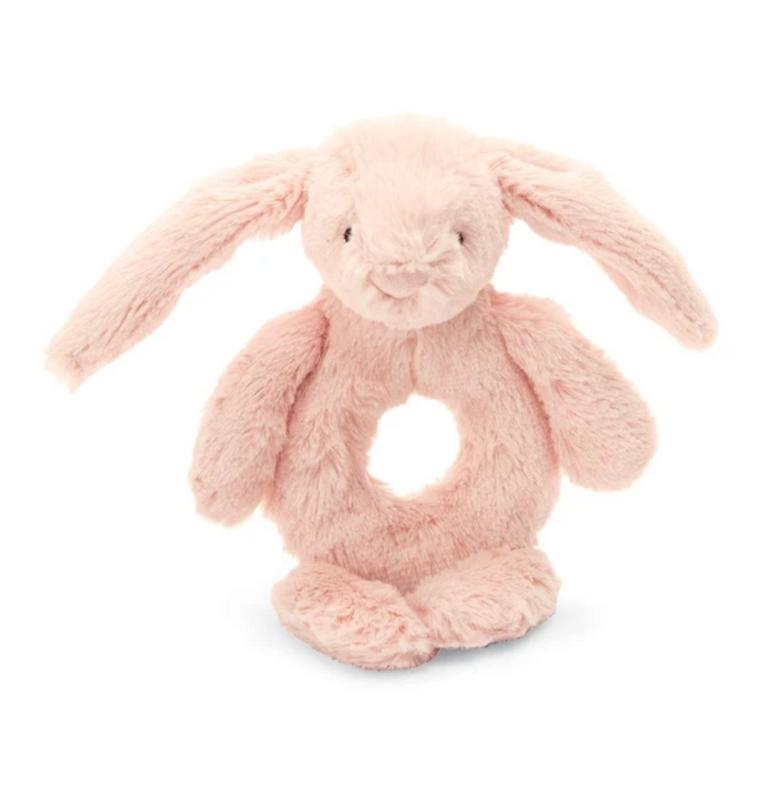 Jellycat Jellycat - Bashful blush bunny ring rattle