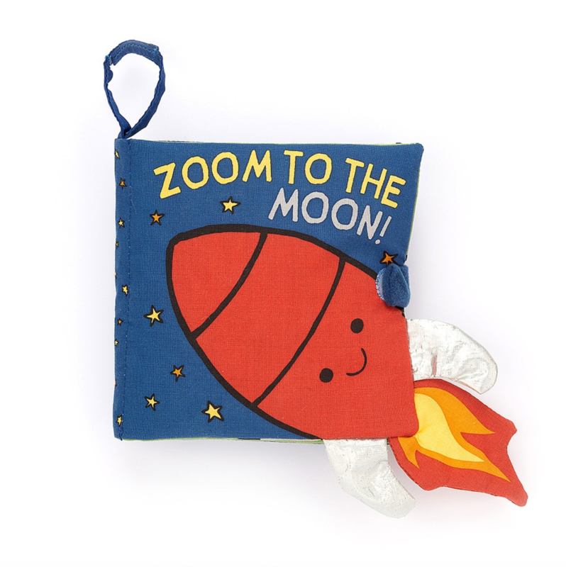 Jellycat Jellycat - Zoom to the Moon Book