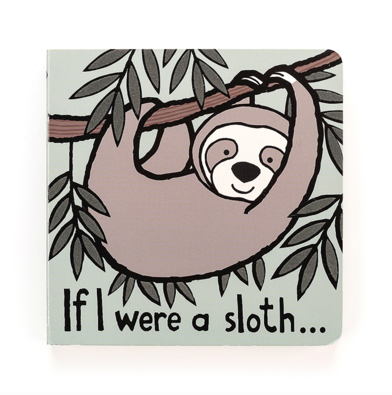 Jellycat Jellycat - If I were a Sloth Book