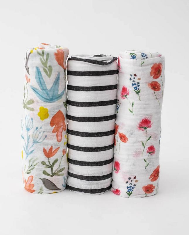 Little Unicorn Little Unicorn - Cotton Muslin Swaddle Blanket Set