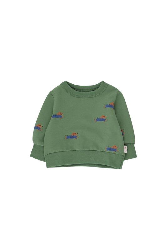 Tiny Cottons Tiny Cottons - Doggy paddle baby sweatshirt