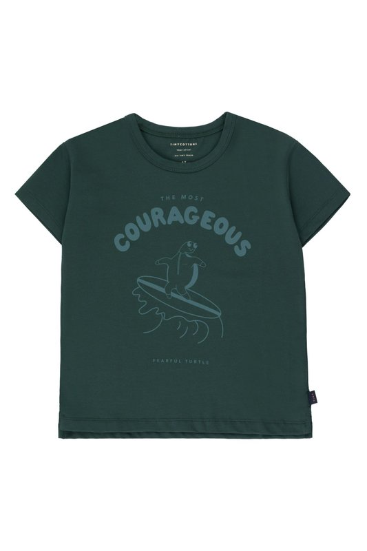 Tiny Cottons Tiny Cottons - Courageous tee