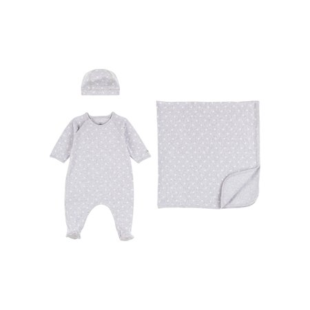 Petit bateau Petit Bateau - Lot cadeau pyjama + couverture + bonnet
