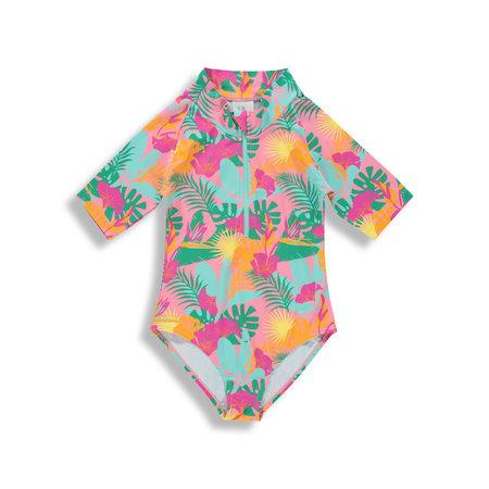 Birdz Birdz - Surfer Swimsuit Pink Jungle
