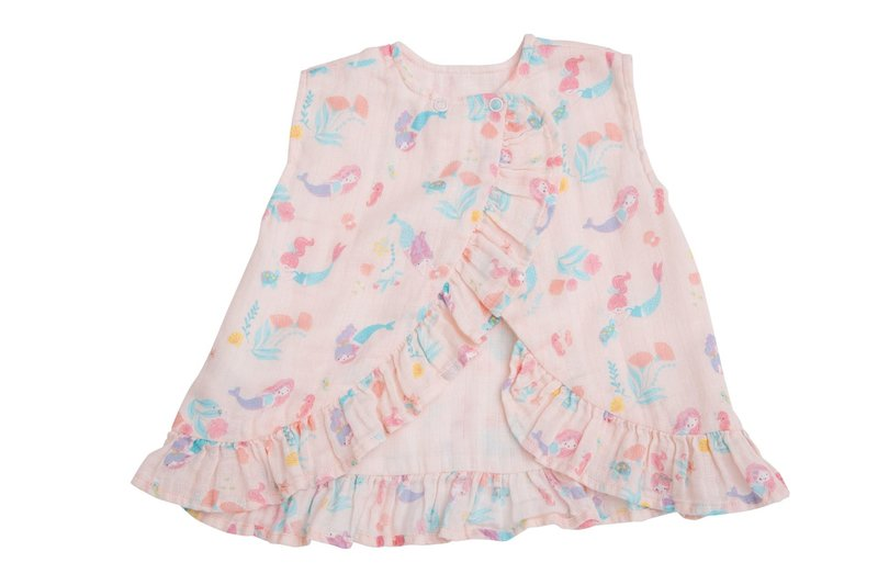 Angel Dear - Ruffle top and bloomer pink
