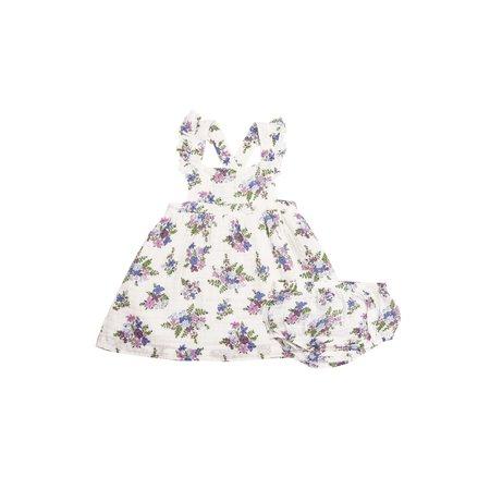 Angel Dear - Pinafore top + bloomer