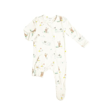Angel Dear - Pyjama Zipper Volant