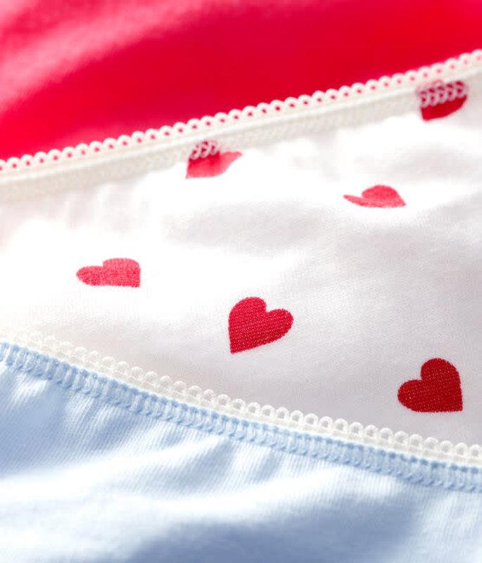 Petit bateau Petit Bateau - Organic Cotton and Elastane Knickers 3-Pack