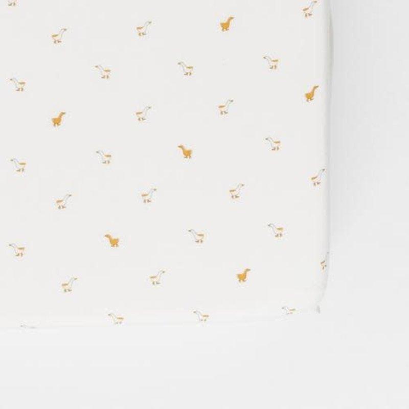 Pehr - Woven Chambray Crib Sheet