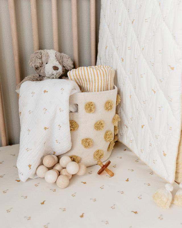 Pehr - Couvertures pour nouveau-nés Matelassée