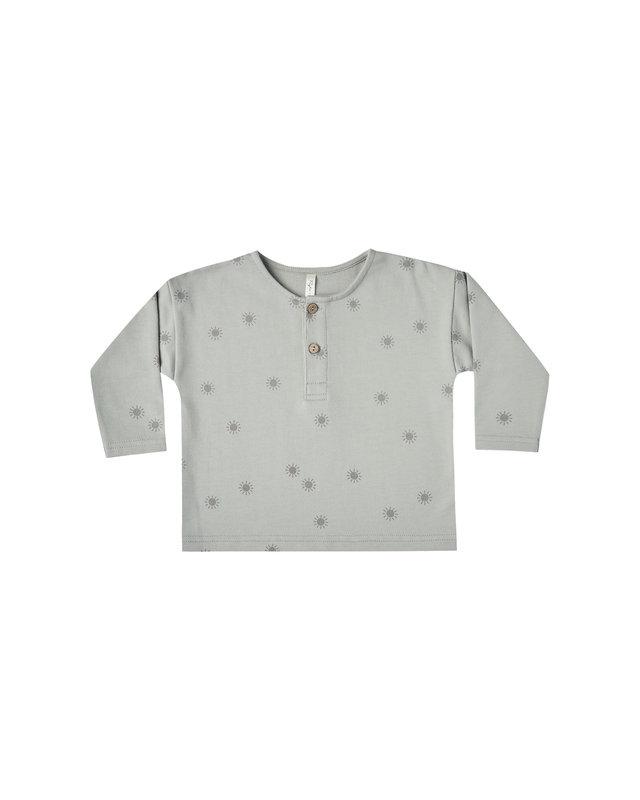 Rylee and Cru - Henley Sweatshirt