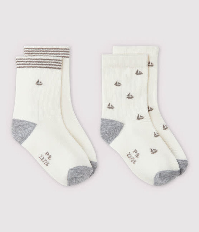 Petit bateau Petit Bateau - 2 paires de chaussettes