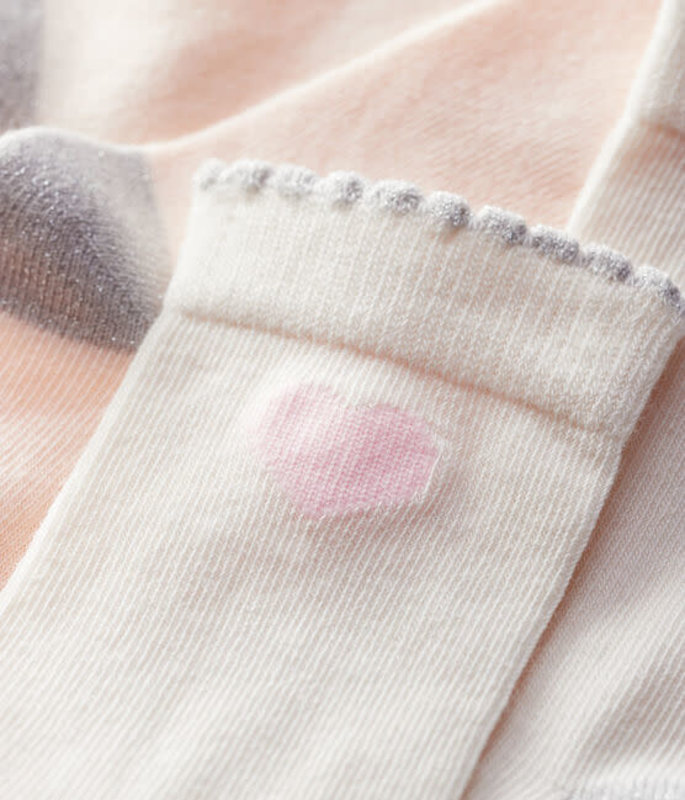 Petit bateau Petit Bateau - Girls' Socks 2 Pack