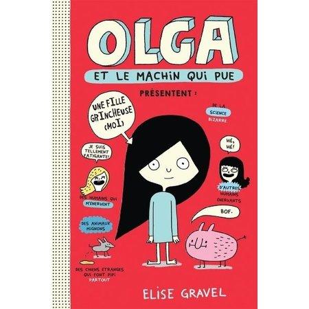 Scholastic Olga 1 et le machin qui pue
