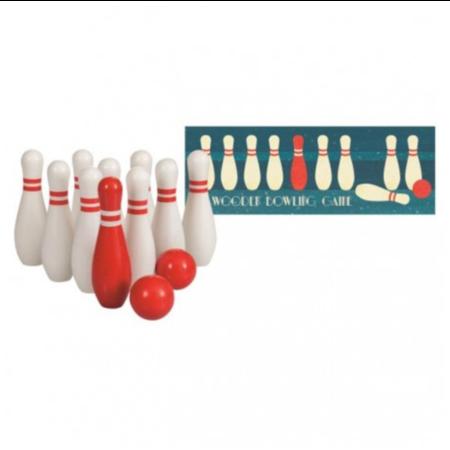 Egmont Egmont - Jeu de bowling en bois