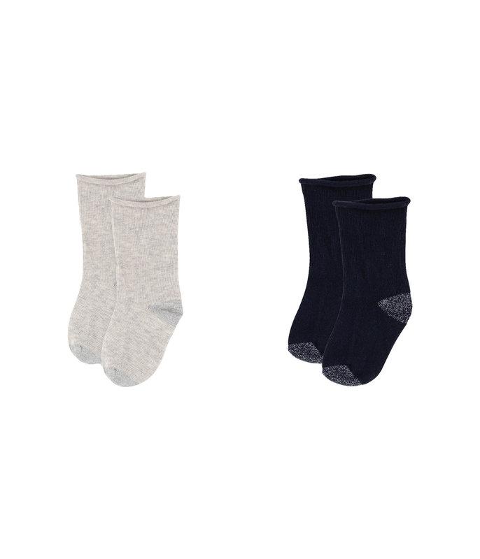 Petit bateau Petit Bateau - Plain Socks - 2-Pack