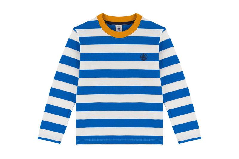 Petit bateau Petit Bateau - Stripy Jersey Sweatshirt