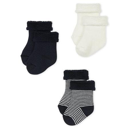 Petit bateau Petit Bateau - Lot 3 paires chaussettes