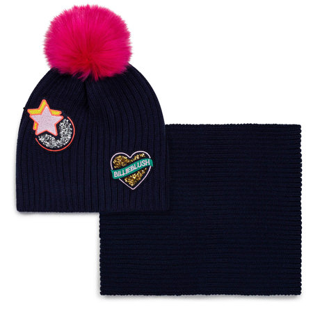 BIllieblush Billieblush - Hat + Scarf Set